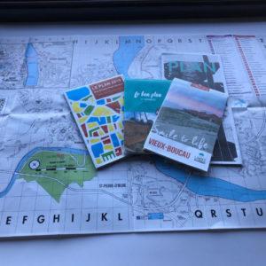 carte de ville ou carte touristique sud ouest services imprimerie aquitaine
